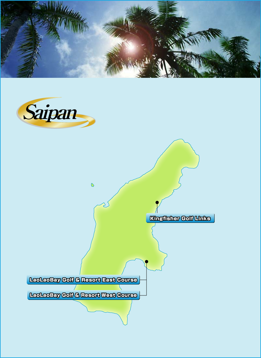 List Of Golf CoursesResorts In Saipan Golf Tour USA - Map of usa golf courses