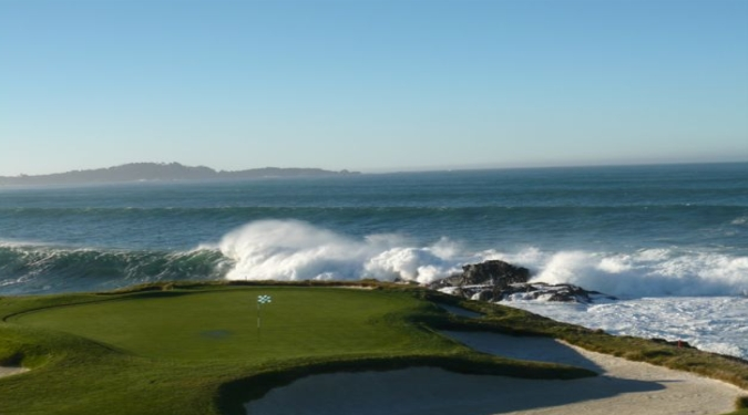 Super Deluxe 4 Day Package: 2 Rounds at Pebble Beach + 1 Round at Spy Glass Hill, and 1 Round at Spanish Bay